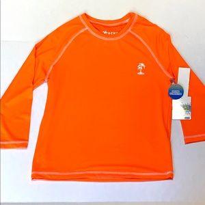 iXtreme boy's long sleeve rush guard UV Protection